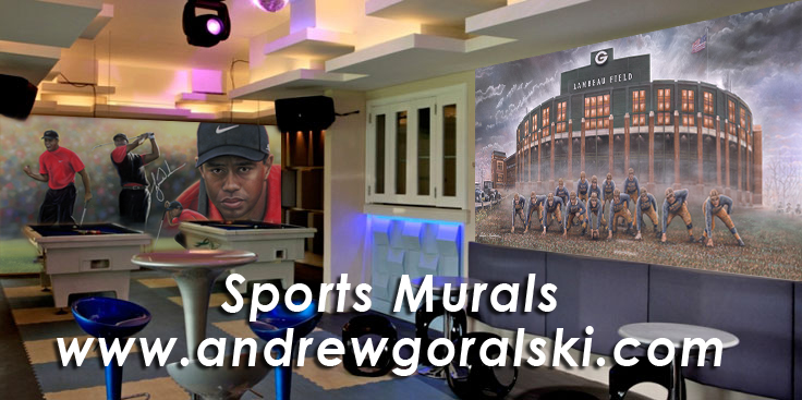 custom sports bars sports murals by andrew goralski andrew goralski official website