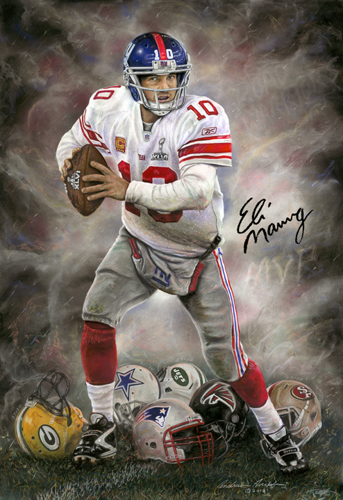 Eli Manning A Run to Remember by Andrew Goralski_