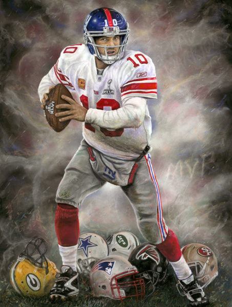 Eli Manning A Run to Remember by Andrew Goralski___